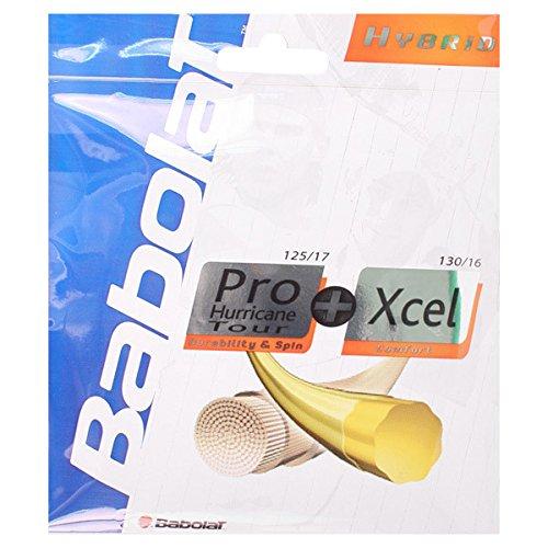 Babolat Hybrid Pro Hurricane Tour 17 Xcel 16 Tennis String