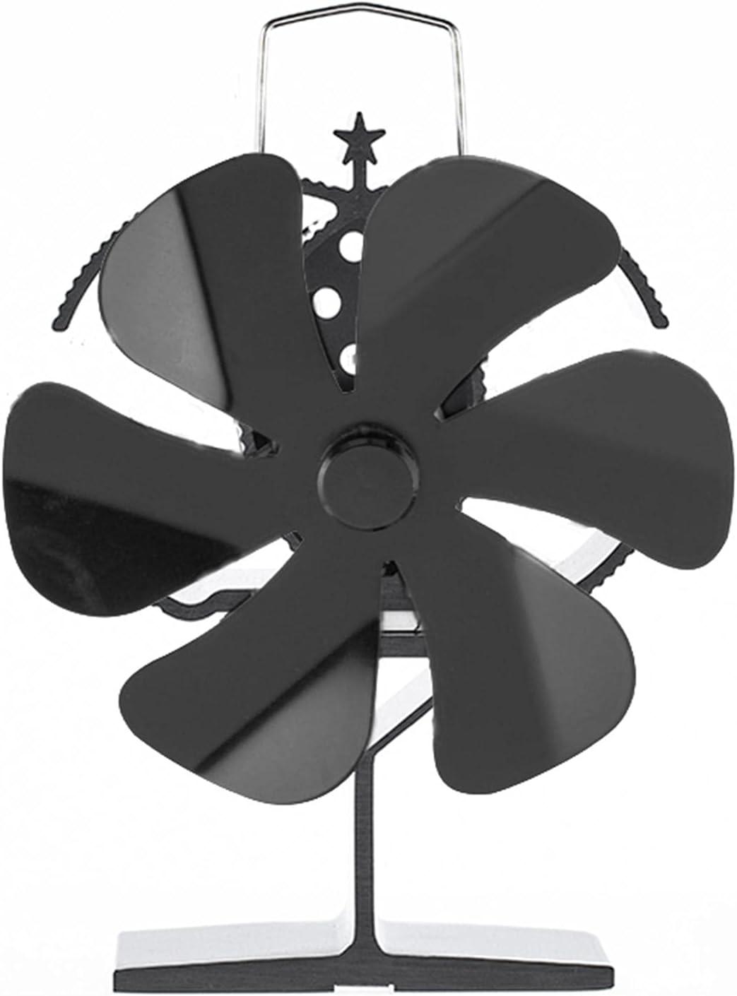 Ventilador de estufa de calefacción, ventiladores de estufa de madera no eléctricos, ventilador de estufa de módulo termoeléctrico para estufas de gas / pellet / leña, ahorro de combustible de manera