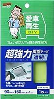 SOFT99 ( ソフト99 ) 愛車再生DIY 超強力両面テープ 透明タイプ 00610