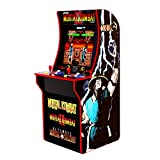 "GAMES INCLUDED: Mortal Kombat, Mortal Kombat II, Ultimate Mortal Kombat Easy Assembly and Plugs into an AC outlet. 3 Games in 1 for 1-2 Players. Classic upright ""Cabinet"" design with 17"" LCD screen and Real-Feel arcade controls Dimensions: 22.75""D x ..."