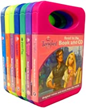 Disney Read to Me 7 Book and CD Collection Set (Disney Fairies Tinker Bell And The Great Fairy Rescue, Peter Pan, Snow White and The Seven Dwarfs, Disney Princess Tangled, Lion King, Disney Princess The Sleeping Beauty, Disney Princess Cinderella)