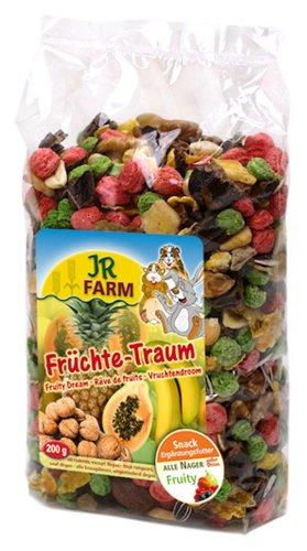 Jr Farm Bocaditos de fruta roedores 200 g. Comida para roedores
