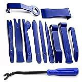 Kit Herramientas Coche Set de Desmontaje Conjunto de Herramientas de Mano de extracción de automóviles de Panel de Puerta de Ajuste de eliminación de Audio Interior (Color : Blue)