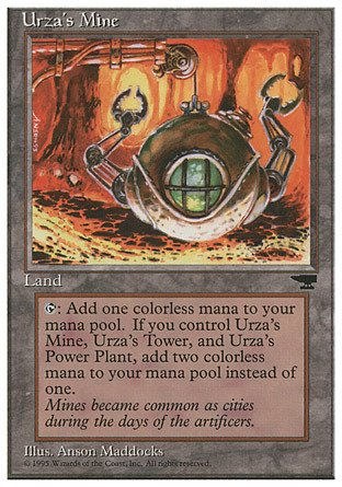 Magic The Gathering - Urza39;s Mine (Clawed Sphere) - Chronicles