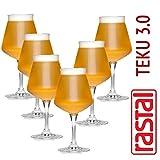 Rastal - 6 Verres Craft Beer dégustations - Teku Coupe, Verre à Bière