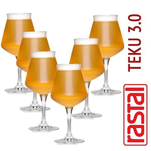6 x Craftbeer verkoelingsglas/stijlglas/sommelierglas | 425 ml