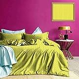 Adorise Colcha Colcha Conjunto Abstracto Juicy Limones hipoalergénico Funda nórdica magnífico Color, Buena Wuakity - Extragrande