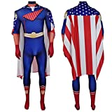 MODRYER Adultos de los niños los Trajes de Cosplay Niños Homelander Superhero Body Suit 3D Imprimir Carnaval Monos Spandex Zentai Unisex Vestido de Lujo Set,Men/S 155~160cm