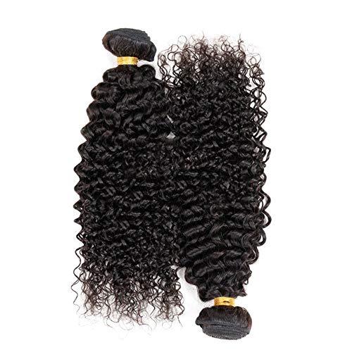 Natürliche Haarteile Fashian Unverarbeitete Brasilianische Echthaarverlängerungen Verworrene Lockige Haarwebart Ein...
