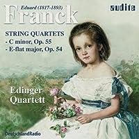 Franck - String Quartets in C minor Op.55 and E flat major Op.54 (Edinger Quartett) by Edinger Qt. (2001-04-17)
