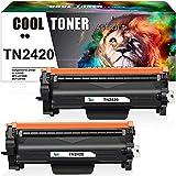 Cool Toner - Cartucho de tóner compatible para TN-2420 TN-2410 Brother HL-L2350DW MFC-L2710DW DCP-L2530DW MFC-L2750DW HL-L2375DW DCP-L2510D HL-2370DN MFC-L2710D HL-L2310D MFC-L2730DW