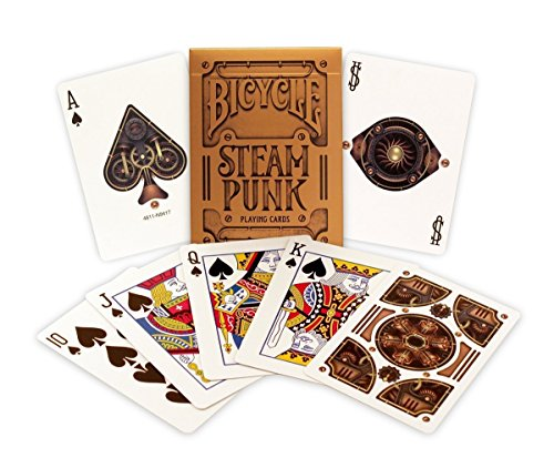 Jeu Bicycle SteamPunk (US Playing Card Company)