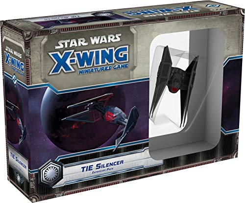 Fantasy FFGSWX68 Star Wars Silenciador de corbata paquete de expansión: juego de miniaturas X-Wing, colores mezclados , color/modelo surtido