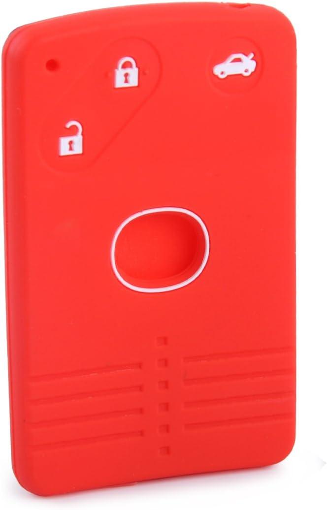 Citall Schwarz 3 Tasten Bts Silikon Fernbedienung Schlüssel Karte Gehäuse Fall Abdeckung Auto