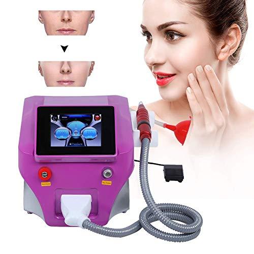 Máquina de eliminación de tatuajes de cejas, marcas profesionales, removedor de pigmento permanente, dispositivo de belleza para blanquear para uso doméstico en el salón(UE)
