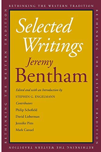 Bentham, J: Selected Writings (Rethinking the Western Tradition)