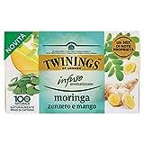 Twinings Infuso Aromatizzato Moringa, Zenzero e Mango 20 x 1,5Gr