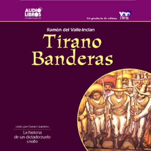 Tirano Banderas audiobook cover art