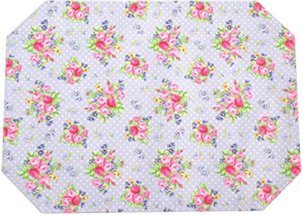 やむを得ないペチュランス工業化するロイヤルアーデン 花柄 ランチョンマット 77568