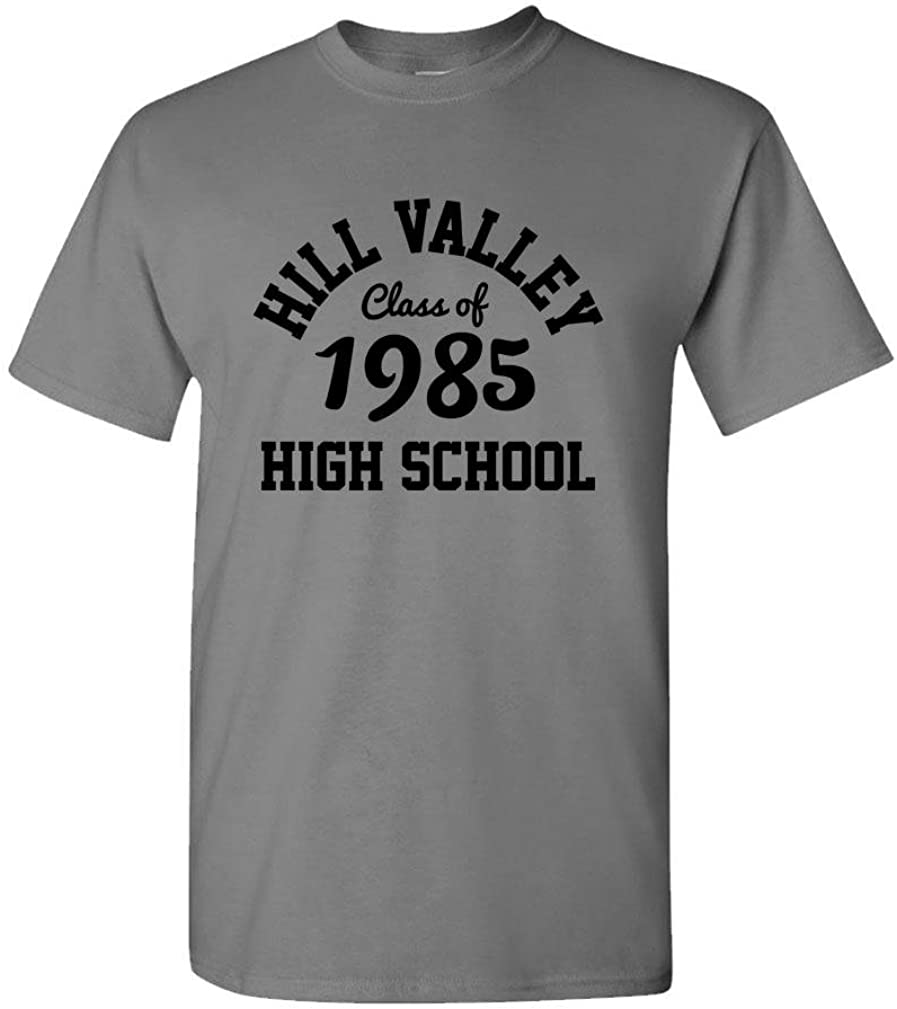 Back To The Future Hill Valley High School 1955 Mens T-Shirt Film Marty