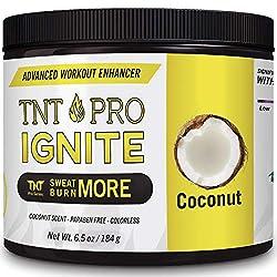 commercial Lose Stomach Cream with Coconut Oil – TNT Proignite Sweat Cream for Men and Women –… sculpt body cream
