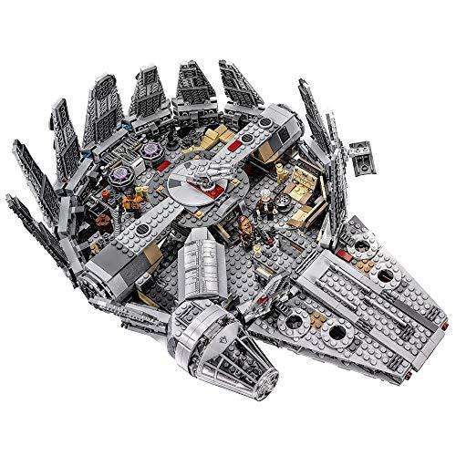 Rawikan Starwars 1381 piezas Star Wars Spacecraft Building Block Juguete de cumpleaños (compatible con Lego)