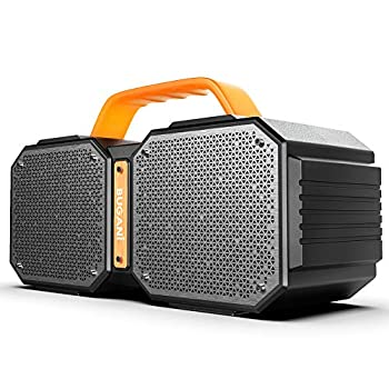 Bluetooth Speaker BUGANI M83 Waterproof Outdoor Speaker Bluetooth 5.0 2400 Minutes Playtime with Charge Your Phone 40W Wireless Stereo Pairing Booming Bass Speaker for Gym Party