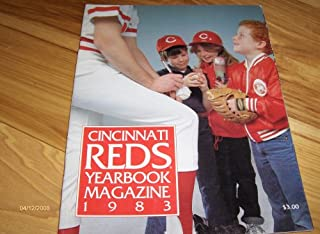1983 Cincinnati Reds Yearbook Magazine