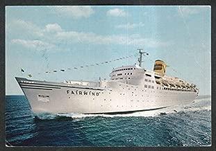 Sitmar Cruises TSS Fairwind postcard 1960s
