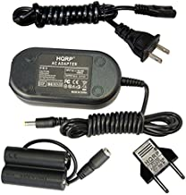 HQRP Kit AC Power Adapter and DC Coupler for Fuji Fujifilm Finepix S2800HD, S2900, S2940, S2950, S2980, S2990, S3200, S4200, S4250, S4300, S4400, S4500, S4500HD Digital Camera Plus Euro Plug Adapter