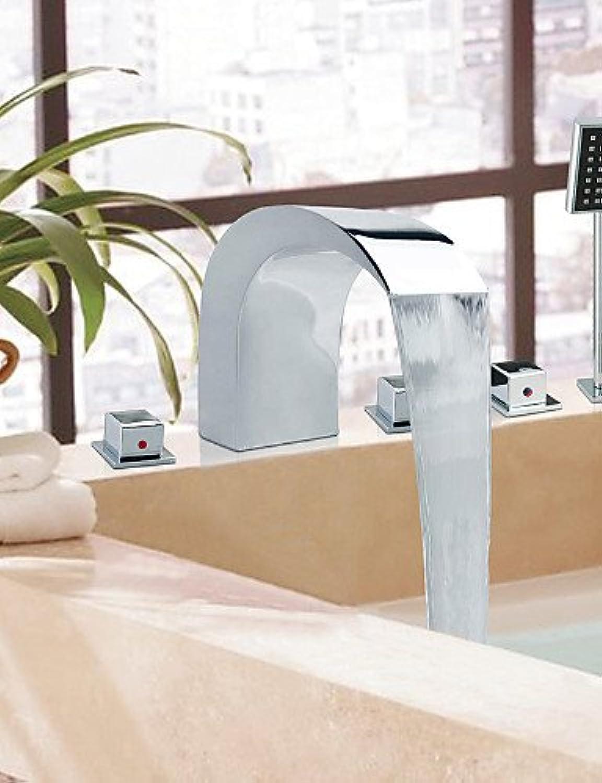 BEGA SZ Moderner Stil Chrome Finish breitgefchert Edelstahl Badewanne Armaturen mit Handbrause Wasserhahn