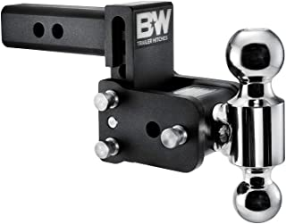 "B&W Tow & Stow - Fits 2"" Receiver, Dual Ball (2"" x 2-5/16""), 3"" Drop, 10,000 GTW"