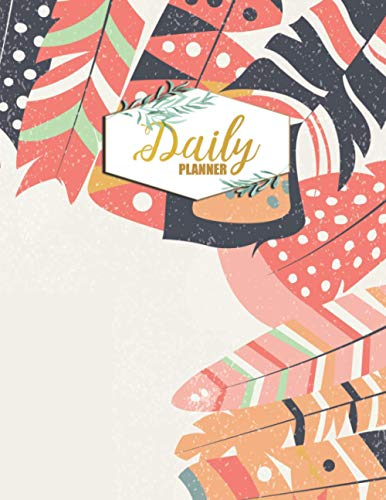 Daily Planner: To-do list Notebook Hourly To Do List with Checkbox Large Undated Daily Tasks Manager Organizer Book Personal Tracker to Track Appointment, Schedule, Productivity, Efficiency