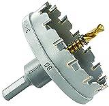 Starrett SM80metallo sega a tazza in acciaio INOX, lamiera, 80mm