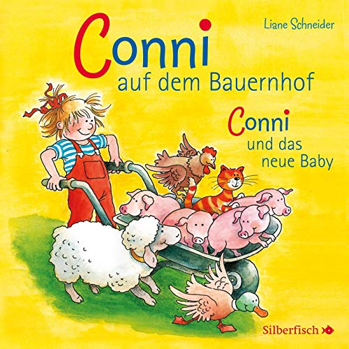 Conni auf dem Bauernhof / Conni und das neue Baby, 1 Audio-CD (Meine Freundin Conni - ab 3)