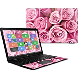 Mightyskins Skin Compatible with Hp 17t Laptop 17.3' (2017) - Pink Roses | Protective, Durable, and Unique Vinyl Decal Wrap Cover | Easy to Apply, Remove, and Change Styles | Made in The USA