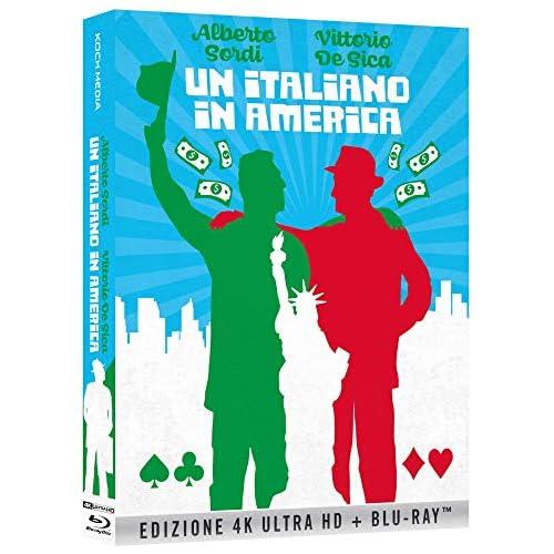 Un Italiano In America (Bd+4K) (Collectors Edition) (2 Blu Ray)