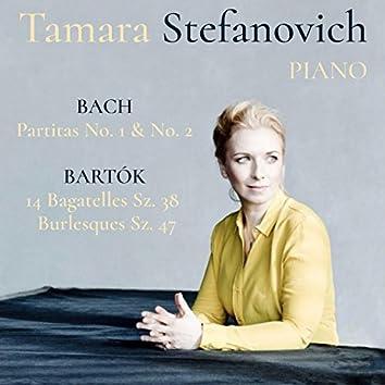 Bach Partitas & Bartók Bagatelles and Burlesques