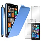 ebestStar - Coque Compatible avec Nokia Lumia 930 Etui Housse PU Cuir Rabat Ultra Fin (Ultra Slim Case) + Stylet + 3 Films...
