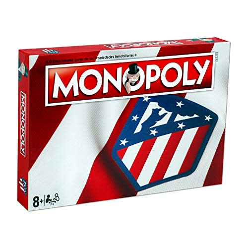 Winning Moves Monopoly Atletico Madrid (10230), Multicolor