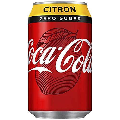Coca Cola Zero Citron EU Dosen Zuckerfrei (24 x 0,33L)