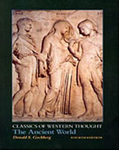 The Ancient World (Classics of Western Thought)