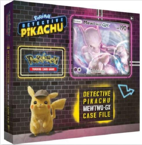 Pokemon Detective Pikachu Special Case File Booster Set Box Mewtwo GX