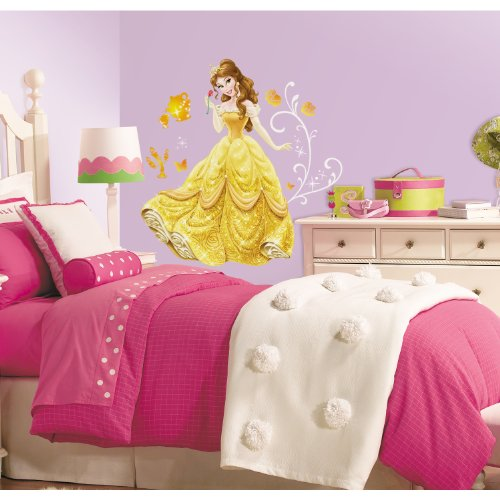 RoomMates Disney Princess  Belle Peel And Stick Giant Wall Decals