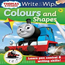 Thomas and Friends Write and Wipe Colours and Shapes