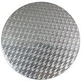 PME CCR820 Round Cake Card, 11-Inch, Silver