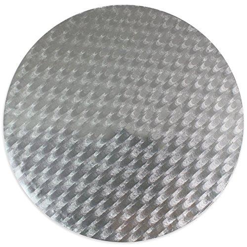 PME 8' para tarjeta, tarta/tabla, color plateado