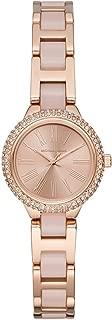 Women's Taryn Quartz Stainless-Steel Strap, Rose Gold, 16 Casual Watch (Model: MK6582)