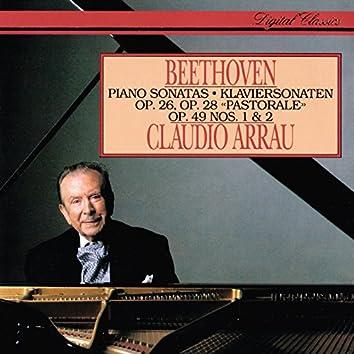 Beethoven: Piano Sonatas Nos. 12, 15, 19 & 20