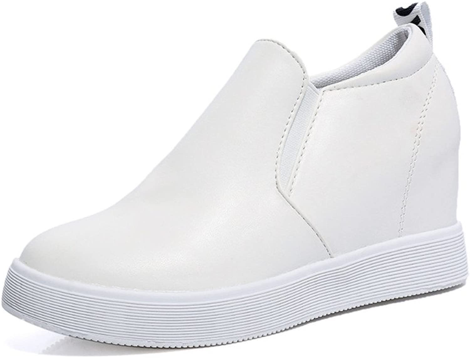 In The Korean Version of The Spring and Autumn and Stealth Increases Women's shoes Thick Student Casual shoes at The end of Loafer shoes